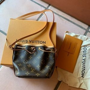 authentic Louis vuitton nano noe
